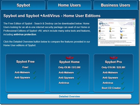 spybot adware removal tool
