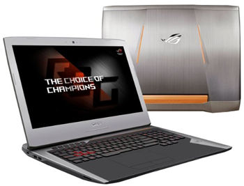 ASUS ROG G752VT-DH72 17inch gaming laptop