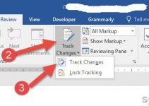 How to Enable/Disable Track Changes in Word 2016/2019, Office 365