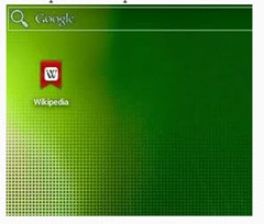 chrome home page Android