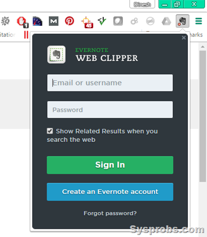webclipper evernote