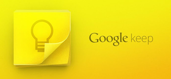 Google Keep note app