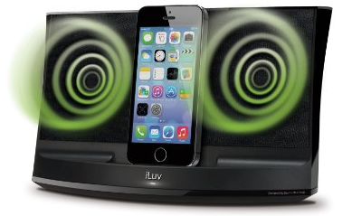 iLuv Aud 3 iphone speaker dock