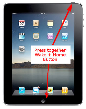 iPad charging slow - reset button