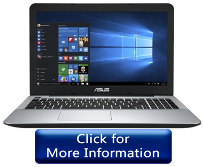 ASUS F555UA-EH71 i7 laptop for gaming under 750