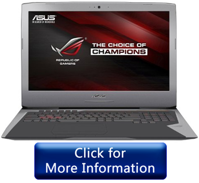 ASUS ROG GL752VL gaming laptop 2016