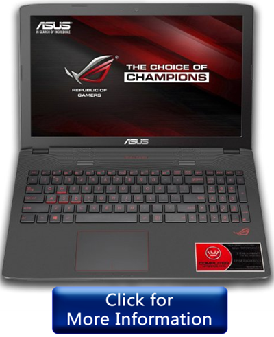 ASUS ROG GL752VW under 1500