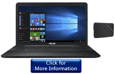 Asus 17-Inch-High Performance Laptop for elders