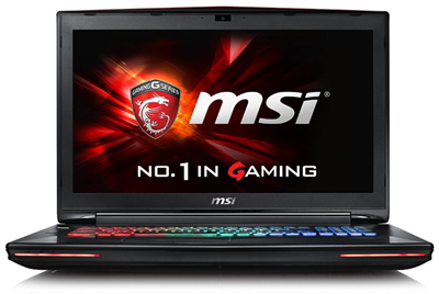 MSI VR Ready GT72VR best MSI gaming laptop 2017