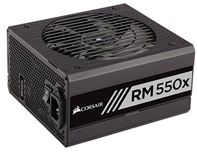 CORSAIR RM550X power supply for gaming
