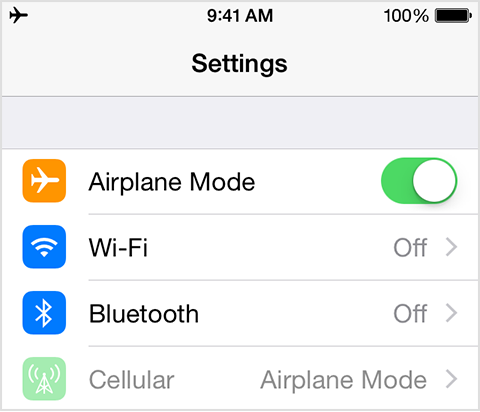 airplane mode for imessage waiting for activation
