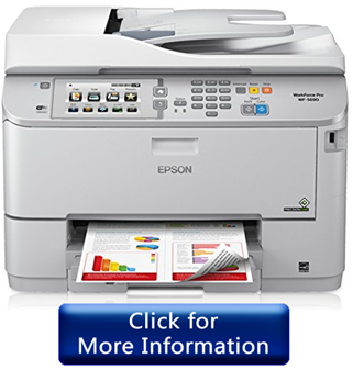 Epson WorkForce Pro WF-5690 inkjet printer for Mac