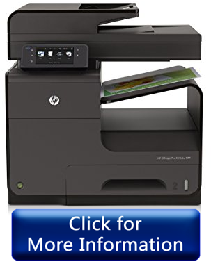 HP Officejet Pro X476dw MFP - best heavy duty printer for Mac iPhone iPad