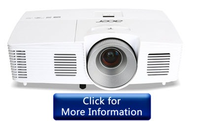 Acer H5380BD Projector under 500 dollars