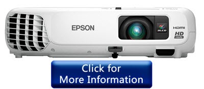 Epson Home Cinema 730HD - HD Projector Under 500 dollars in 2017