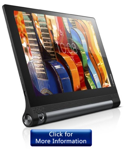 The Other Features That Make Yoga Tab From Lenovo Best Among Its Bunch Include 10 1 Inch Hd Resolution Clear And Crisp Dolby Home Theater Sound