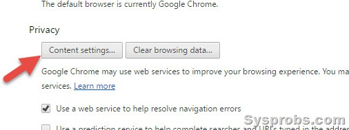 chrome clear history on exit