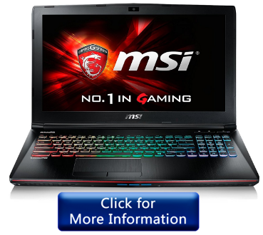 MSI GV62 8RD-200 Gaming Laptop
