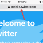 How to Access Twitter Desktop Site on your Smartphone iPhone, Android or even on the Tab