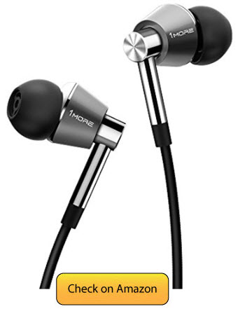 1MORE Triple Driver In Ear Best Earbuds Under 100