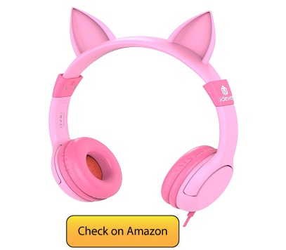 7 IClever BoostCare Kids Headphones, Wired Headphones