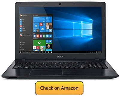 Acer Aspire E 15 - cheap and best laptop for hacking 2017
