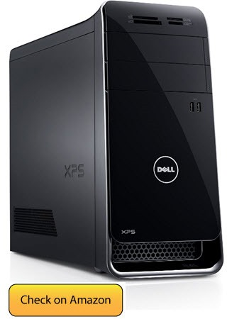 Dell XPS x8900 powerfull best computer for photo editing