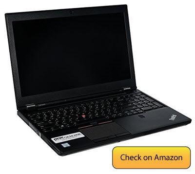 Lenovo ThinkPad P50 - best laptop for IT Professional