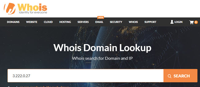 Look For Whois Information