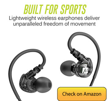 MEE Audio X6 Plus Stereo Bluetooth Best Earbuds Under 50
