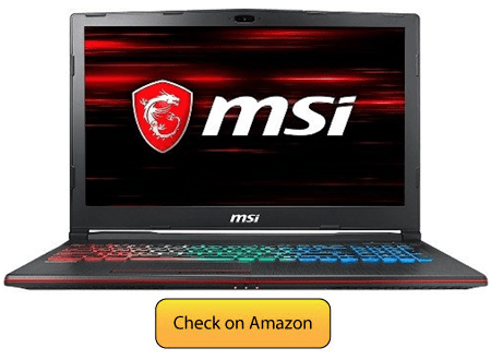 MSI GP63 Leopard 041 Under 1200 Dollars
