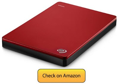 Seagate Backup Plus -best external hard drive for macbook pro