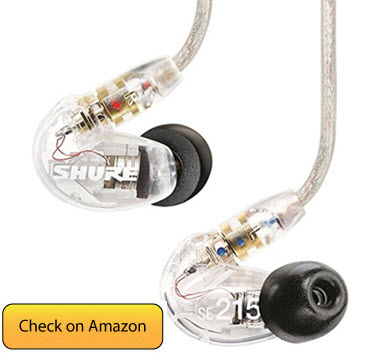 Shure SE215 CL Sound Isolating Earphone