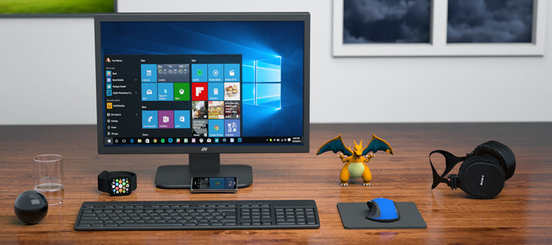 Use of TeamViewer in Windows PC
