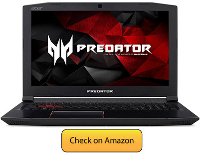 Acer Predator Helios 300 - Best Laptop for Video Editing
