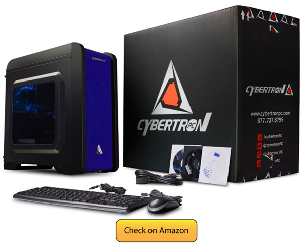 CybertronPC Electrum QS-A6- Best Gaming PC under 500 in 2017