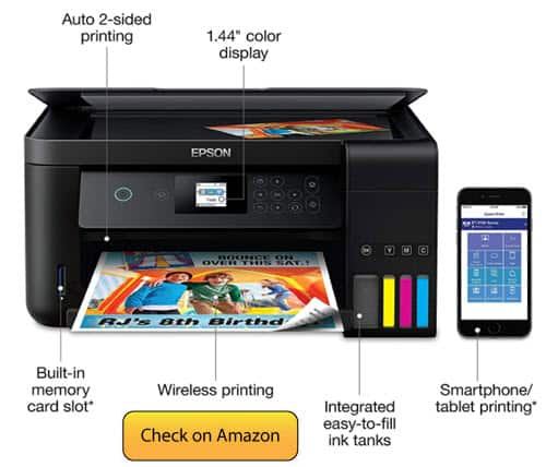 Epson Expression ET 2750 Cost Effecting Best Printer For Mac