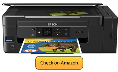 Epson Expression ET-2650 - best printer for Mac - Home Use