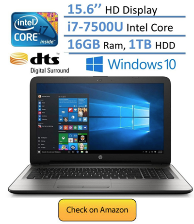 HP Notebook 15.6 HD Laptop PC - best laptop under 700 in 2018