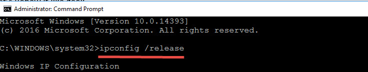 Release Ip To Fix Windows Has Detected An Ip Address Conflict