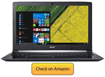 Acer Aspire 5 Dedicated Display RAM Laptop Under 600