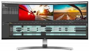 LG 34UC98 W IPS Monitor For Mackbook Pro With Thunderbolt