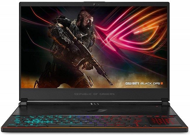 ASUS ROG Zephyrus S Ultra Slim Gaming Laptop Under 2000