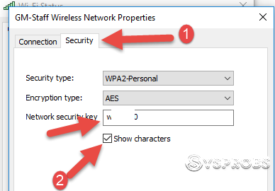 Saved Password Of The Wi Fi In Windows 10