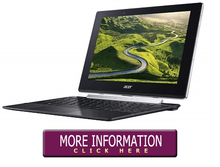 Acer Switch V 10 - Laptops Under 200 Dollars