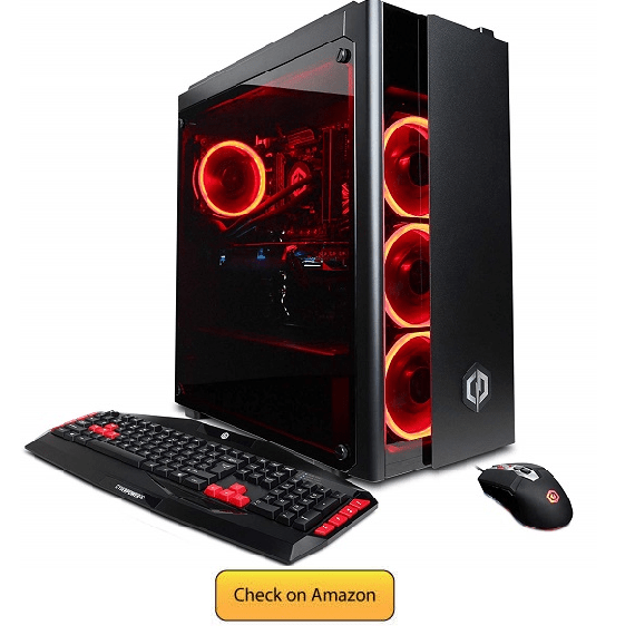 CYBERPOWERPC GXiVR8080A3 Overclockable Gaming PC Desktop