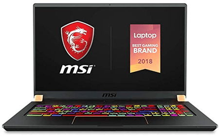 MSI GS75 Stealth 093 Gold Diamond Cut