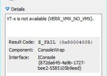 (Solved) VT-x is Not Available (verr_vmx_no_vmx) in Windows 10 – but Available for Oracle VirtualBox