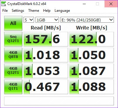Old HDD Speed In Windows 10