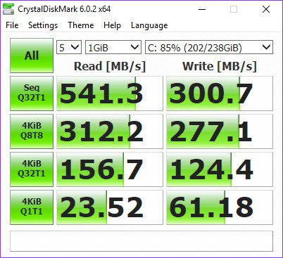 SSD Speed In Windows 10